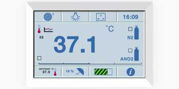 Anaerobic Conditions Monitor Animation